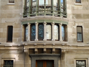 Detalhe do Hotel Tassel de Victor Horta Por Arco Ardon from Dordrecht, Netherlands - Brussels - Hotel / Hôtel TasselUploaded by Magnus Manske, CC BY 2.0, https://commons.wikimedia.org/w/index.php?curid=16244943