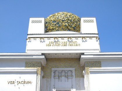 Secession Hall de Joseph Olbrich By Gryffindor - Own work, CC BY 2.5, https://commons.wikimedia.org/w/index.php?curid=1020206