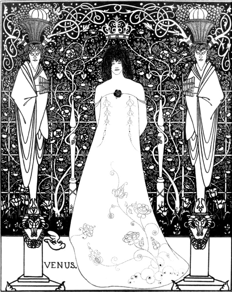 Venus_between_terminal_gods_beardsley